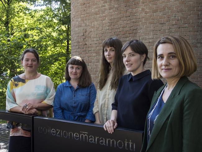 Tania Kovats, Ruth Ewan, Phoebe Unwin, Emma Hart, Ana Génoves Ph.C. Gabriele Micalizzi / Cesura Courtesy Collezione Maramotti