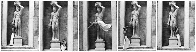Zhang Huan, MY ROME, 2005