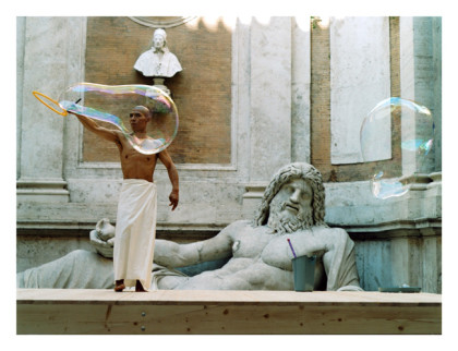 Zhang Huan, My Rome (Hang Bubble), 2005