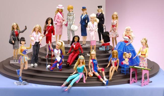 Barbie e le sue innumerevoli carriere, oltre 156 a partiredal 1959©Mattel Inc