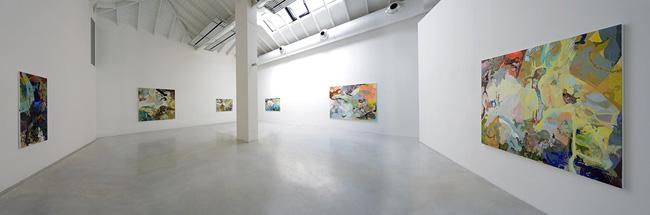 Veduta della mostra Victoria Stoian. Rallenting Codri Earthquake, Studio la Città, Verona con la collaborazione della Galleria Alberto Peola, Torino