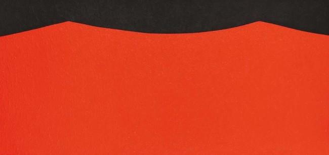 Alberto Burri, Cellotex Eor 1, 1985, acrilico su tela, 117x242 cm, Fondazione Palazzo Albizzini Collezione Burri