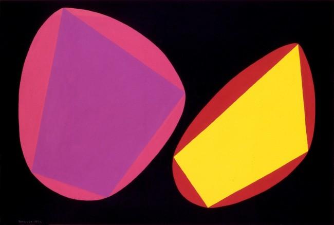 Angelo Bozzola, Rappresentazione concreta, 1954, tempera su carta, 32x47.2 cm Fondazione Angelo Bozzola, Galliate
