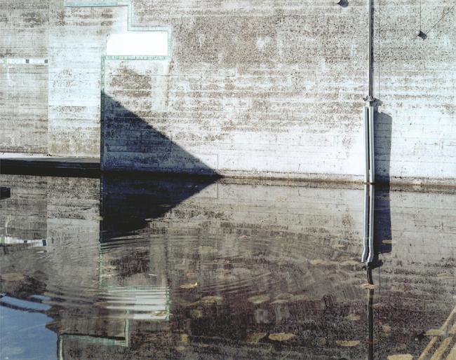 Guido Guidi, da La tomba Brion di Carlo Scarpa, #17145, 02-20-2007, looking southwest, c-print, frame cm 41,5x46,5 © Guido Guidi courtesy Viasaterna