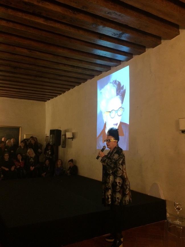 Orlan, Maravee Therapy, opening. Foto di Isabella Falbo