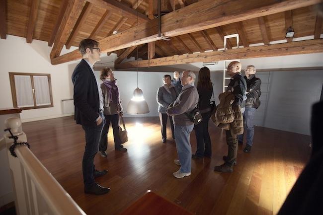 Michele Spanghero, ppp – pianopianissimo (2015) installazione sonora site specific dimensioni ambientali courtesy dell'artista e cinemazero, ph. Elisa Caldana