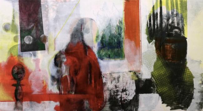 Marco Spaggiari, Senza titolo N°1, 2015, 100x186 cm Courtesy RvB Arts, Roma