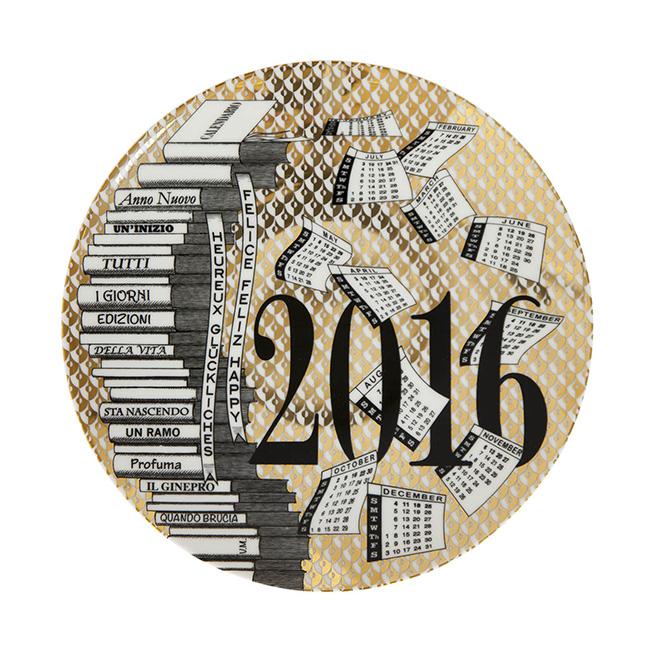 Piatto Calendario Fornasetti 2016
