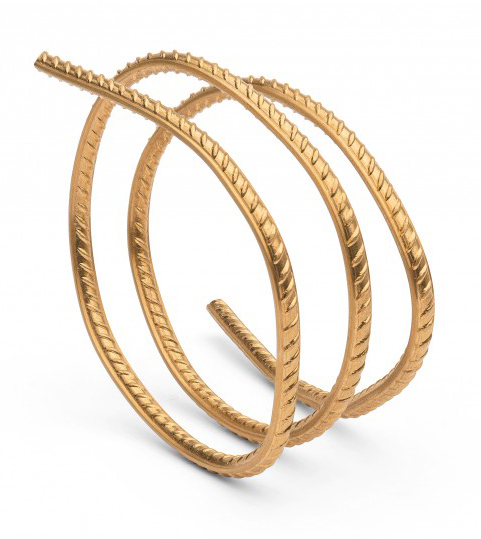 Ai Weiwei, Rebar in Gold, 2013, bracciale in oro 24k, cm 60 (lunghezza), pezzo unico