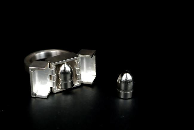 Nicola Evangelisti e Ronald Lewis Facchinetti, Peace Bullet Mandala + Art Pod