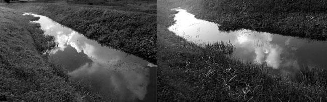 La sostanza delle visioni, 2015  stampa fotografica, dittico, 26 x 17 cm ciascuno
