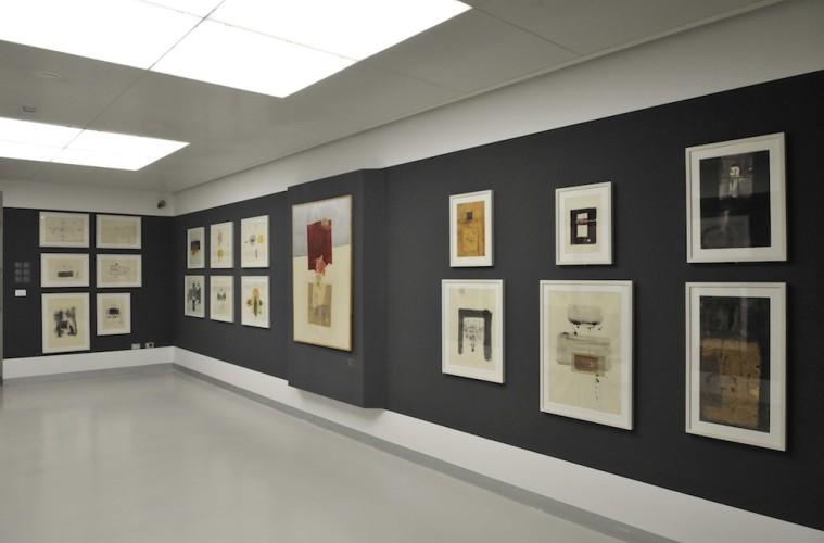 Eugenio Carmi. Appunti sul nostro tempo. Opere storiche 1957 – 1963, veduta della mostra, Museo del Novecento, Milano