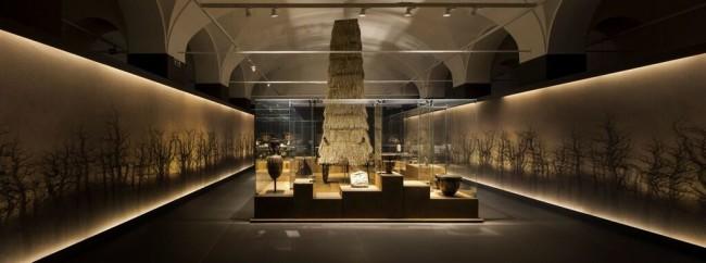 Mito e natura. Dalla Grecia a Pompei, veduta dell'allestimento, Palazzo Reale, Milano