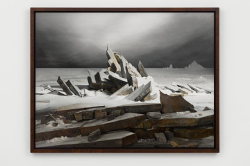 James Casebere, Sea of Ice, 2014 - courtesy Lisson Gallery - photo Daniele Venturelli