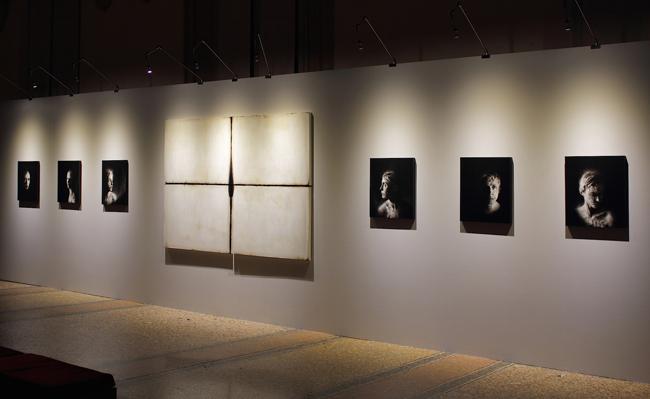 Ettore Frani, Luce nera e Silenziose_#2. Foto: Paola Feraiorni