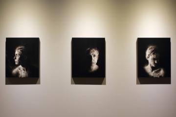 Ettore Frani, Silenziosa IV, V e VI. Foto: Paola Feraiorni