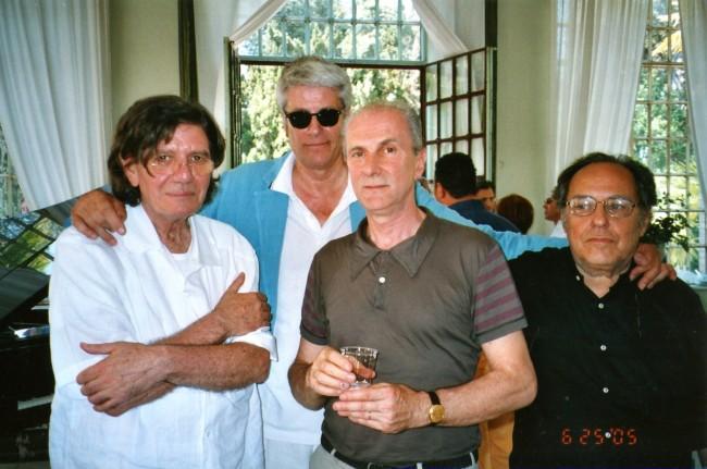 Ettore Spalletti, Pio Monti, Massimo Minini, Vettor Pisani, 2005.