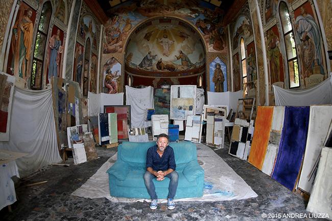 Ritratto di Gino Baffo, 2015. Foto: Andrea Liuzza