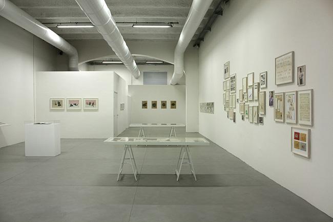 "Veduta della mostra ""La quarta prosa"", Laura Bulian Gallery, Milano"