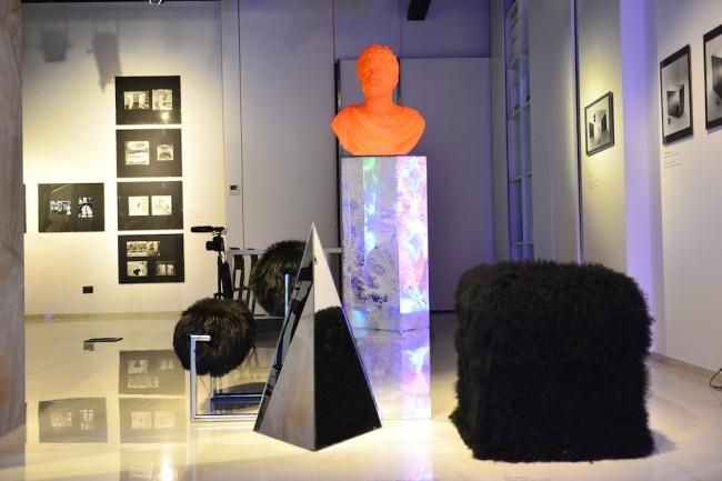 Nanda Vigo. Opere abitate da opere. 1959-1972, veduta della mostra, SpazioFMG per l'Architettura, Milano