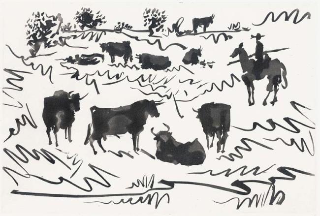Pablo Picasso, Tauromachia, 1959