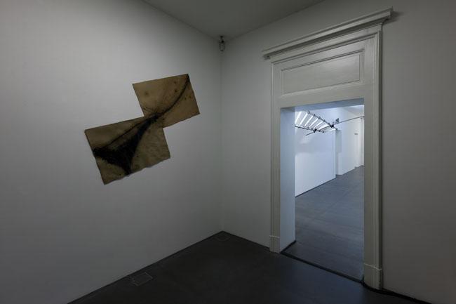 Gilberto Zorio. 2015, Napoli, veduta della mostra (ingresso), Lia Rumma, Napoli
