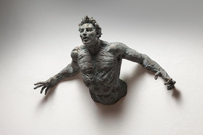 Matteo Pugliese, Raw, 2015, bronzo, edition 7+3, 50x75x30 cm_1