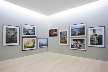 Boris Mikhailov. io non sono io Veduta delle sale / serie Yesterday Sandwich e Superimpositions, Museo Madre, Napoli Courtesy Fondazione Donnaregina per le arti contemporanee, Napoli Photo © Amedeo Benestante