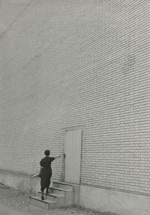 Facciata, fabbrica di costruzioni meccaniche Oerlikon 1936. jacob Tuggener Foundation,. Uster