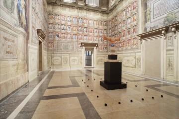 Luca Lanzi. Eikon, veduta dell'allestimento della Sala Urbana (sala 17), Collezioni Comunali d'Arte Palazzo d'Accursio, Bologna