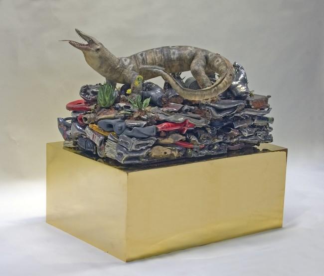 Bertozzi&Casoni, Tempo, 2013, ceramica, 49x75x50 cm