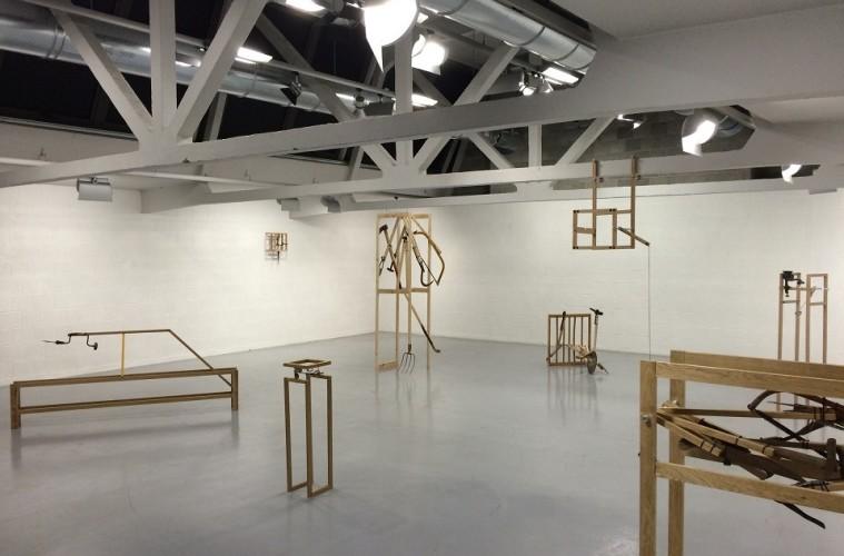 Congerie di Martina Brugnara, veduta della mostra, Galleria Gagliardi e Domke, Torino
