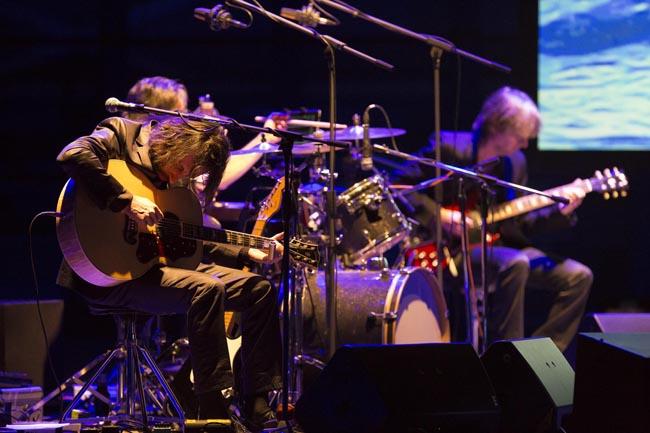 Marlene Kuntz per la performance del 10 ottobre al Teatro Zandonai di Rovereto Courtesy  Mart, Foto: Jacopo Salvi