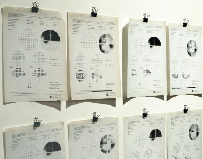 Anna Elena Paraboschi, Umor Acqueo, 2015, installazione, 320x170 cm
