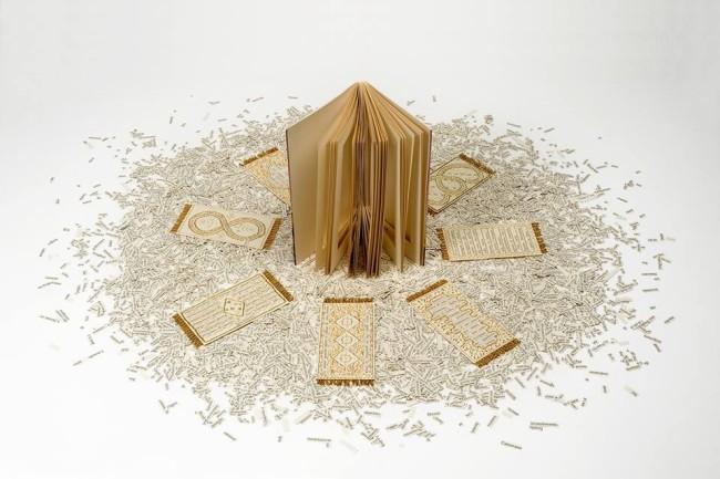 Un'opera di Sabrina Mezzaqui selezionata per la mostra Pubbliche intimità