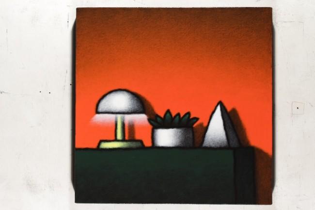 Tino Stefanoni, Senza titolo Z471, 2015, acrilici su tela, 36x36 cm
