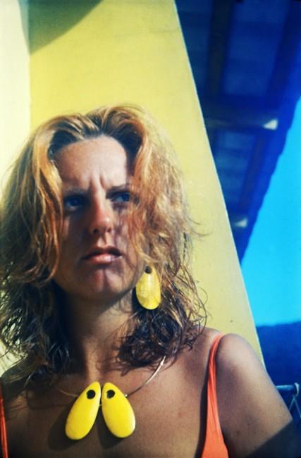 Un ritratto di Franca Scheggi Dall'Acqua del 1967. I gioielli indossati sono disegnati da Paolo Scheggi © Paolo Scheggi, SIAE 2016