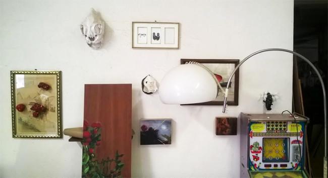 Una veduta dello studio di Arianna Carossa