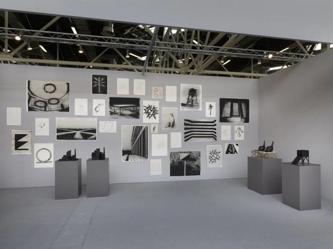 Una veduta dello stand di OTTo gallery ad Arte Fiera Bologna 2016