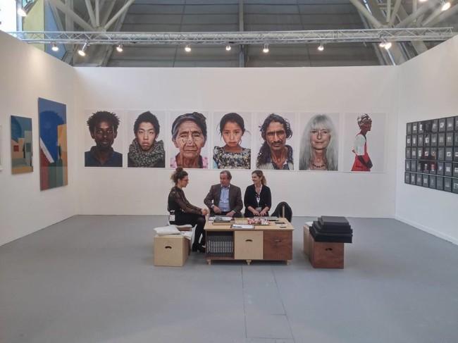 Una veduta dello stand di Sabrina Raffaghello Arte Contemporanea ad Arte Fiera Bologna 2016