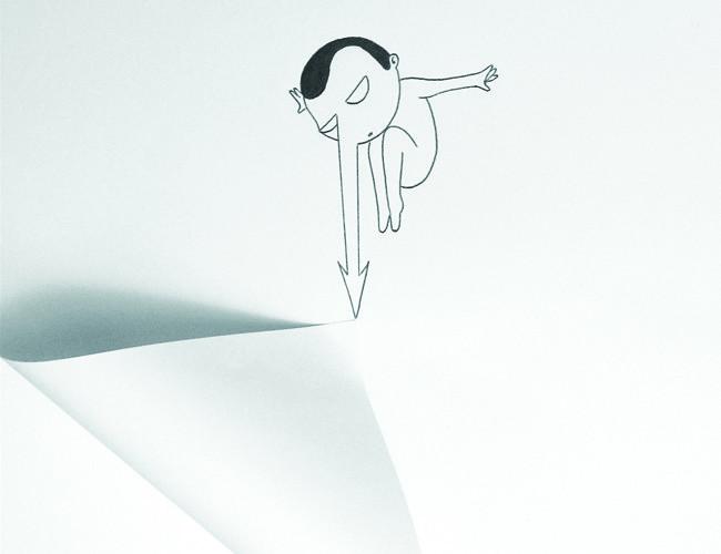 Nicola Ballarini Senza titolo, 2015 ink on paper / inchiostro su carta cm. 21 x 31