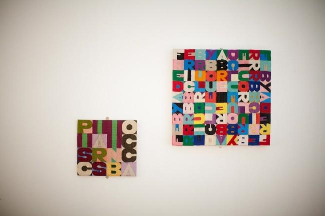 Alighiero Boetti, Tapestries