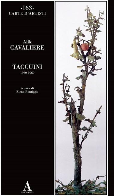 Alik Cavaliere, Taccuini 1960-1969, copertina del volume
