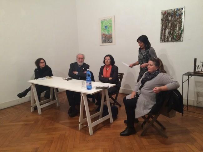 Alik Cavaliere, Taccuini 1960-1969, presentazione del volume, Galleria Milano, Milano 10 febbraio 2016 (relatori)