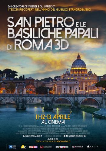 SanPietro e le Basiliche Papali di Roma in 3D