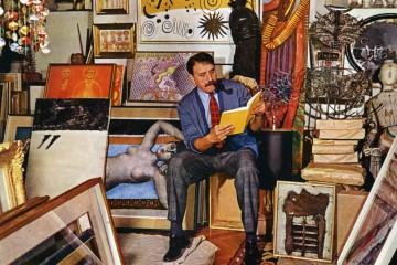 Carlo Cardazzo alla Galleria del Naviglio, 1962