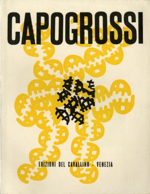 Frontespizio di Capogrossi di Corrado Cagli, Edizioni del Cavallino, 1950