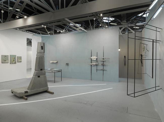 Veduta stand Cardelli e Fontana, ArteFiera 2016,
