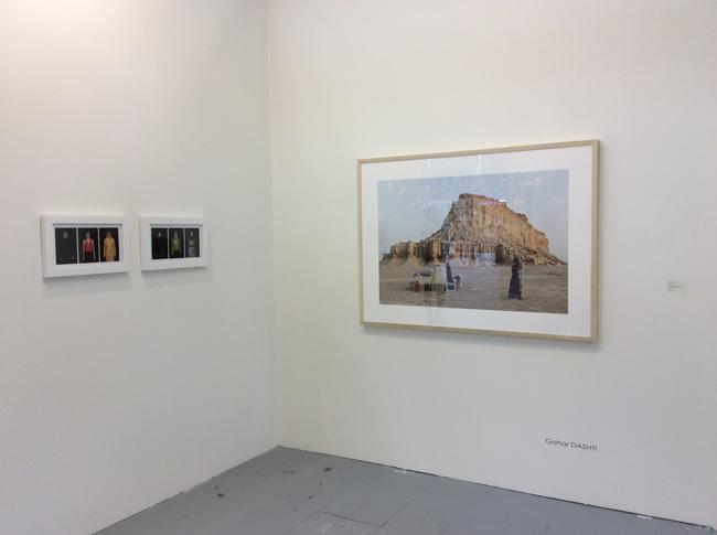 Una veduta dello stand di Officine dell'Immagine ad Arte Fiera 2016