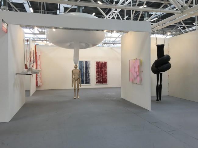 Una veduta dello stand di Eduardo Secci Contemporary, Arte Fiera Bologna 2016